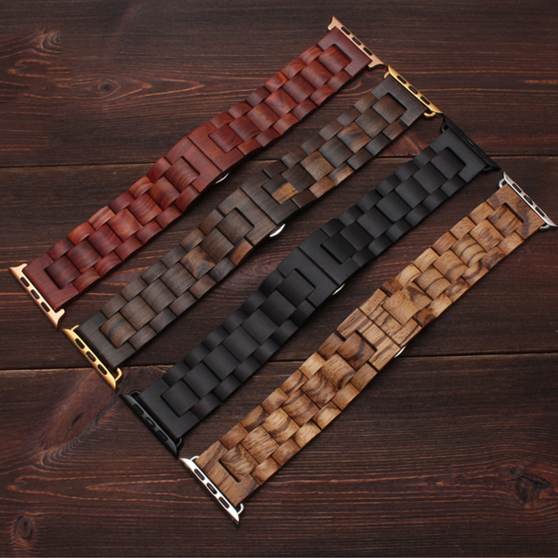 Hot Discount #7d756 - Wooden Strap For Apple Watch Band 44 Mm 40mm ...