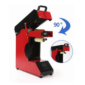 Image 4 - Professionele Roller 360 Graden Lcd Roll Sublimatie Plastic Mok Glazen Beker Roller Logo Print Warmteoverdracht Machine AP1825