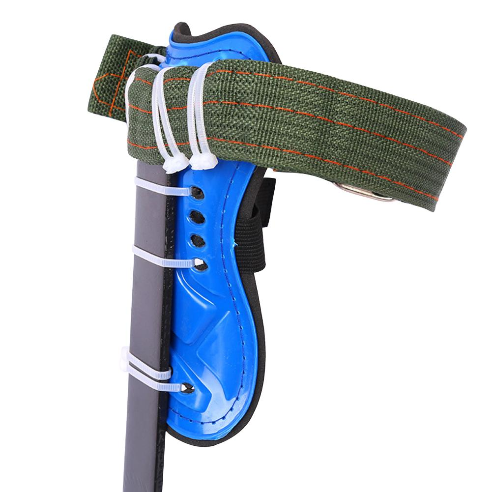 2 Gears Tree Climbing Spike Set Safety Belt Adjustable Lanyard Rope Rescue Belt Tree Climbing Tool Outdoor Gadget - 3