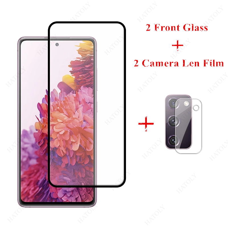2PCS For Samsung Galaxy S20 Fan Edition Glass for Samsung Galaxy S20 FE Lite M51 M31s A31 A21s Tempered Glass Screen Protector|Phone Screen Protectors|   - AliExpress