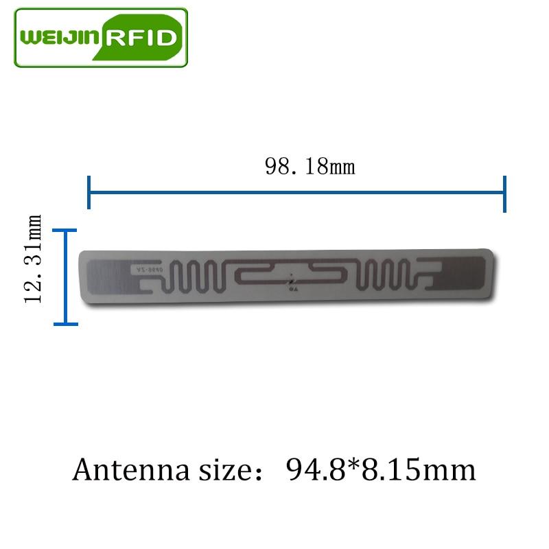 UHF RFID Umbauaufkleber Ausländer 9640 nasse Einlage 915m868 - Schutz und Sicherheit - Foto 3