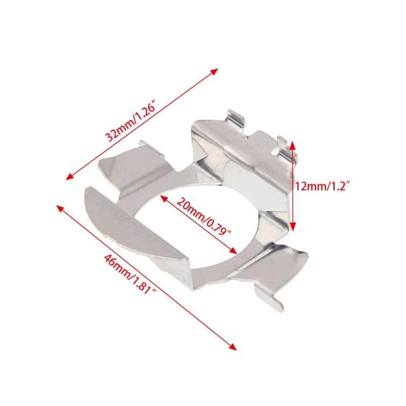 1PC H7 HID Xenon Bulbs Base Pemegang Adaptor Retainer Klip Kit Untuk VW Bora Mobil Styling Jy25 19 droship