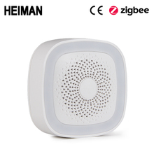 HEIMAN WiFi Smart Home, Casa Intelligente kit Gateway Porta Finestra PIR motion zigbee sensore di GAS Monossido di carbonio rivelatore di Fumo di allarme sirena
