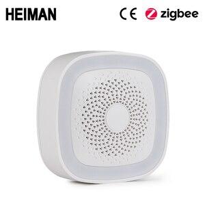 Image 1 - היימן WiFi חכם בית ערכת שער דלת חלון PIR motion פחמן חד חמצני גז חיישן עשן גלאי אזעקת סירנה