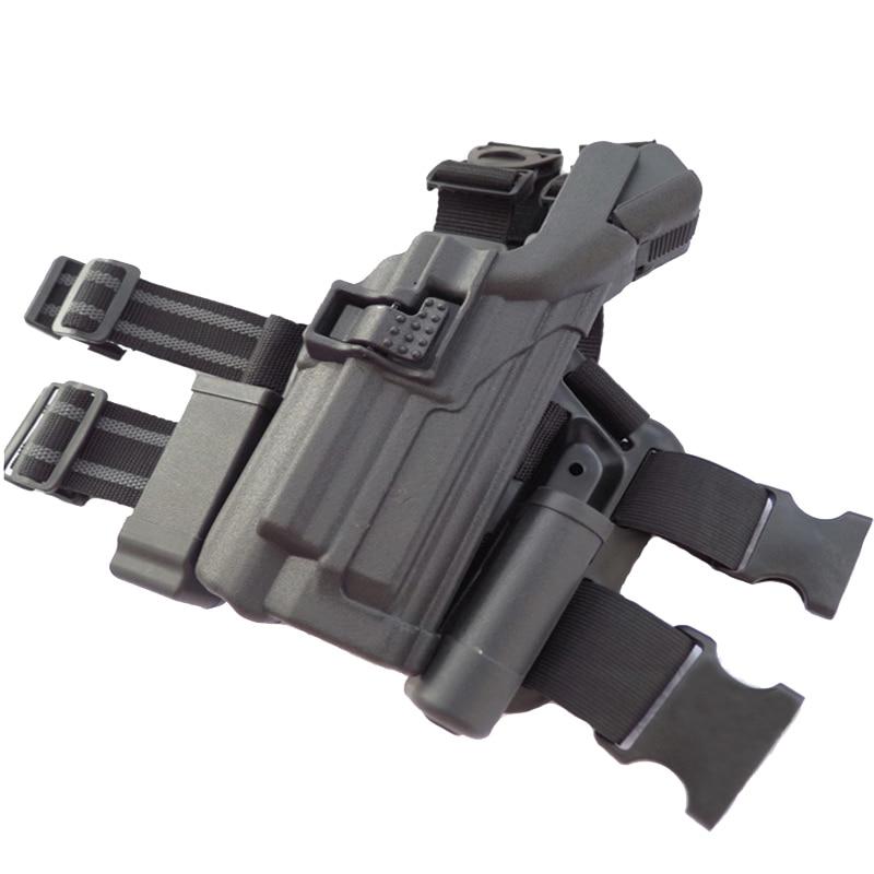 coldre rolamento lanterna militar arma carry caso