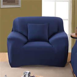 1/2/3/4 местный твердый Цвет эластичный чехол на диван спандекс европейских и американских полиэстер угловой диван покрывало для дивана