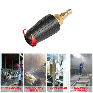 Image 5 - Universal Pressure Washer Turbo Nozzle Quick Connect Rotating 4000PSI Car Washer For High Pressure Washer Cleaner Connector
