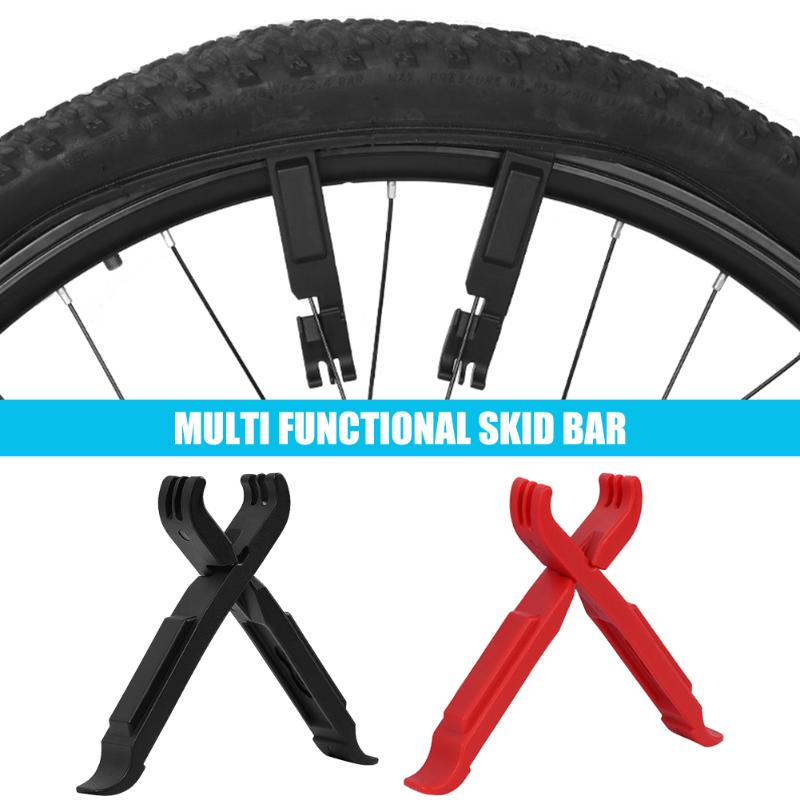 2pcs Portable Bike Tire Lever Wheel Pry Bar Master Link Chain Breaker Cutter Pliers Bicycle Repair Tool Cycling Accessories