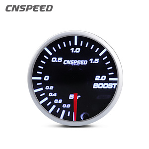 """Image 2 - 2"""" 52mm 12v Universal 10 Color LED Racing Turbo Boost Gauge RPM Tachometer Water Oil Temperature Meter Red Pointer With Sensor"""
