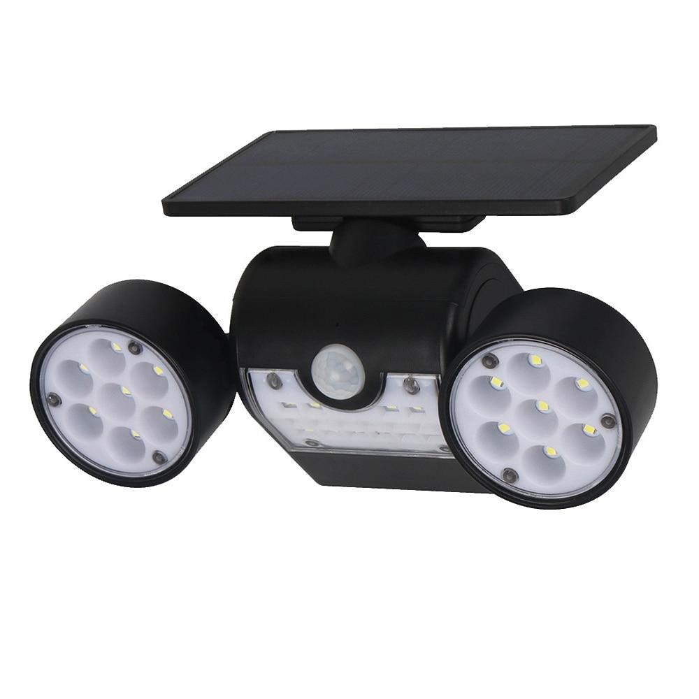 30LED Solar Light PIR Motion Sensor Super Bright Solar Powered Spotlights Lamp Waterproof For Outdoor Garden Decoration in Lighting Strings from Lights Lighting