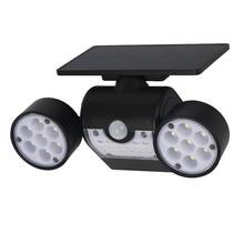 30LED Solar Light PIR Motion Sensor Super Bright Powered Spotlights Lamp Waterproof For Outdoor Garden Decoration