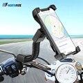 Универсальный мотоциклетный держатель для телефона для iPhone  Samsung  регулируемый держатель телефона  держатель для GPS  вращение на 360 градусов ...