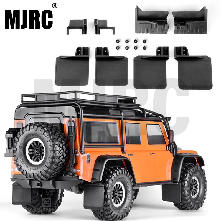 1 Set 4pcs Rubber Front And Rear Fenders Modified Upgrade Accessories For 1/10 Rc Crawler Car Traxxas Trx-4 Trx4 D110 82056-4