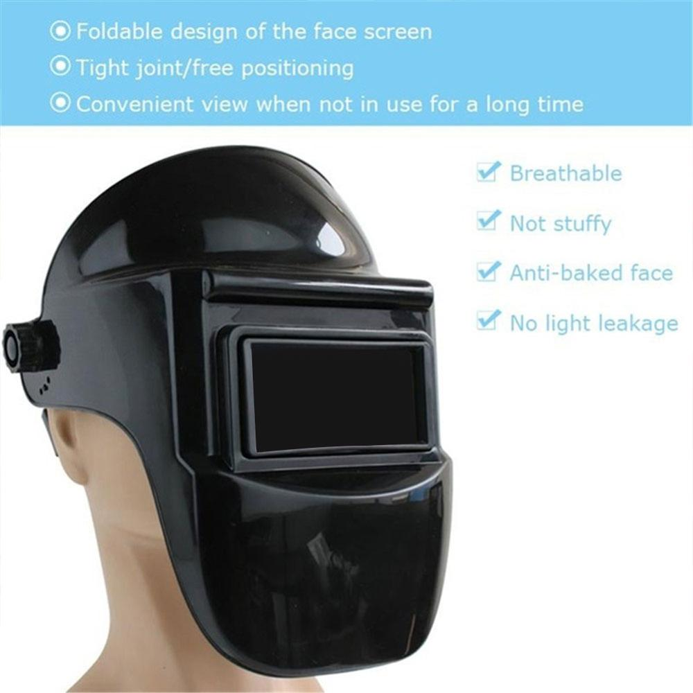 Adjustable Shade Electric Welding Cap For Eye Protection Mask For Welding Eequipment