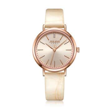 Julius Uhr Damen Business Uhr Hohe Qualität 2018 Neue Marke Luxus Gold Frauen Uhren Modus Kreative Quarzuhr JA-1095