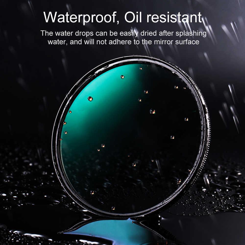 K & F Concept 52Mm 58Mm 62Mm 67Mm 72Mm 77Mm 82Mm Nano X Slim CPL Filter Circular Polarizer Filter Lensa untuk Canon NIKON Sony Kamera