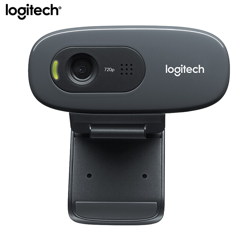 Logitech C270/C270i HD Webcam Gaming Mini USB Kamera Live Broadcast Web Camera Built-in Microphone Network Video Conference Cam