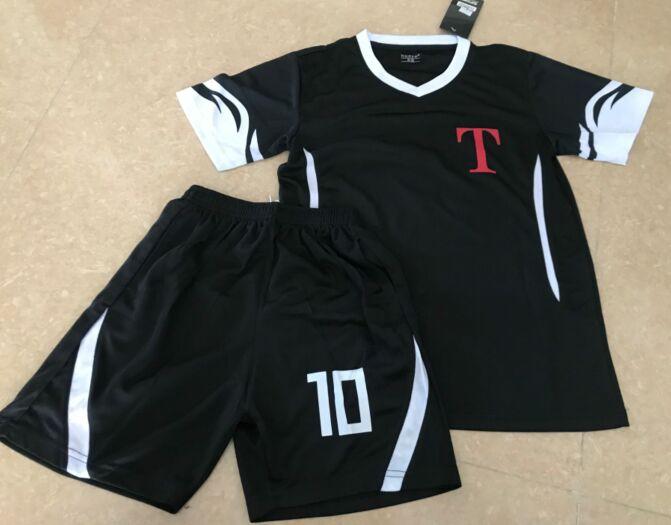 Asia Sizes! Men & Kids Oliver Atom Captain Tsubasa Maillots Camisetas De Futbol Foot Hyuga Football Shirt Set,Mark LENDERS