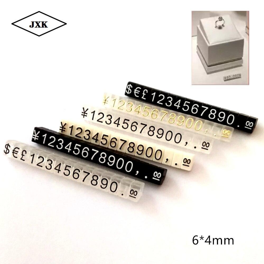 40 pièces chiffres prix étiquette cube chiffres prix étiquette numéro chiffres étiquette Sia montre bijoux Pop prix présentoir