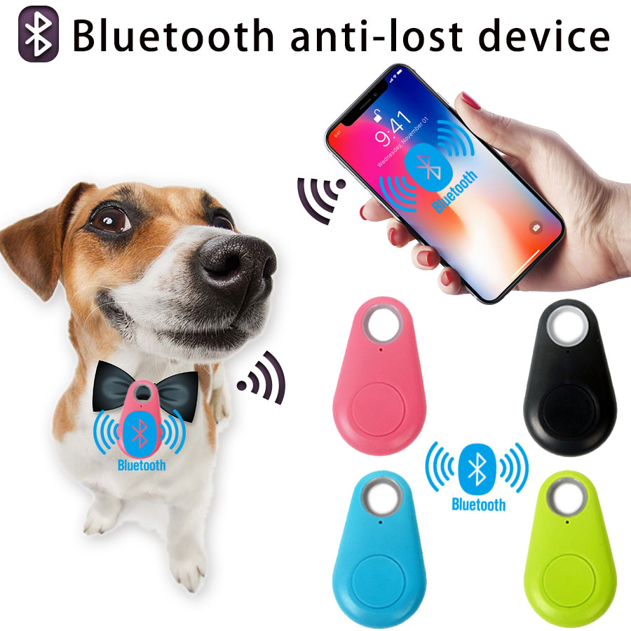Anti Lost Keychain Key Child Pet Motorcycle Smart Tag Bluetooth Mini GPS Locator Keychain Tracker Track Gps Locator