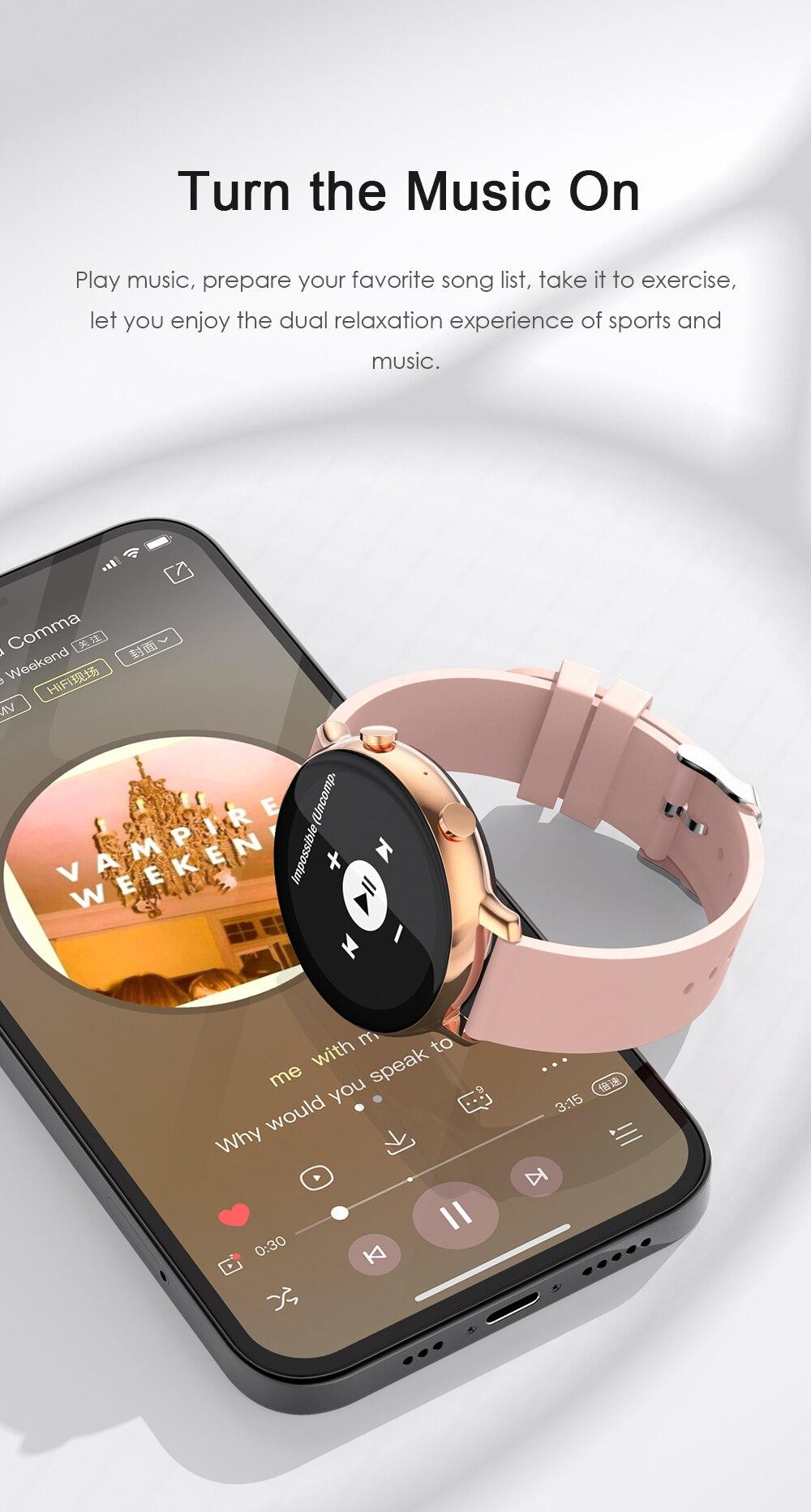 Ha78ba502d63541deb63435c64e3a4cb94 SANLEPUS 2021 Smart Watch Dial Calls Men Women Waterproof Smartwatch ECG PPG Fitness Bracelet Band For Android Apple Xiaomi