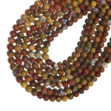 Заводская цена натуральный камень красный агат гладкие круглые