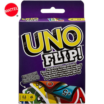 Mattel UNO : Flip ! Kartenspiel Fun Board Game High Fun Multiplayer Playing Toy Card Games Games And UNO Toys