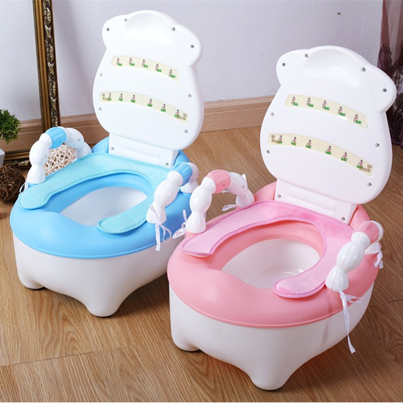 Toilet For Kids Seat Cushion Plush Cover Children Baby Toilet Only Zuo Bian Dian Anti-Cold