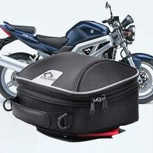 Para sv 1000/s 03 07 sv650x sv650/s gladius à prova dwaterproof água do tanque do motor saco de combustível de óleo preto motocicleta saco de combustível tanque saco 3.2l