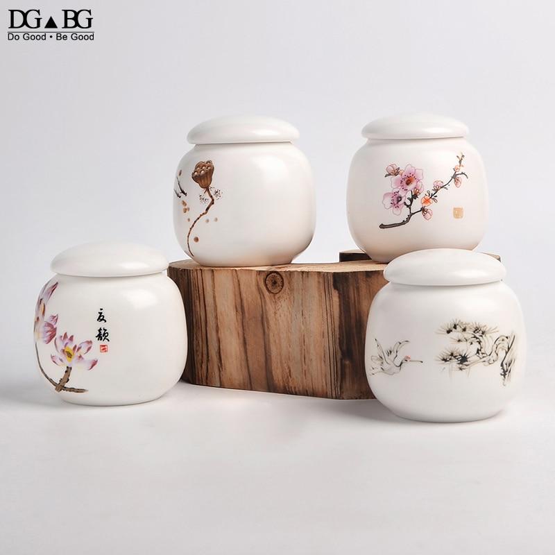 Memorial Container Pet Ashes Urn Handpainted Ceramics Urn Cremation Pet Bird Ash Holder Burial At Home