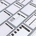 50 листов еженедельник блокнот для учебы Организатор расписание Todo список ежедневный планировщик офисный блокнот для письма