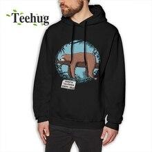 Lazy Sloth Sweatshirt Unisex 2018 New Tee Pure Cotton Cute animal Hoodies