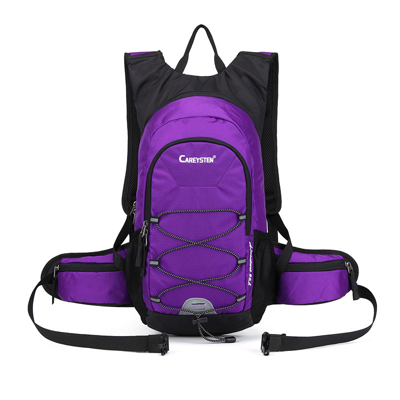 For Riding Backpack Men's Outdoor Sports Hydration Pack Hiking Travel Backpack Women's Lightweight Mountaineering Bag