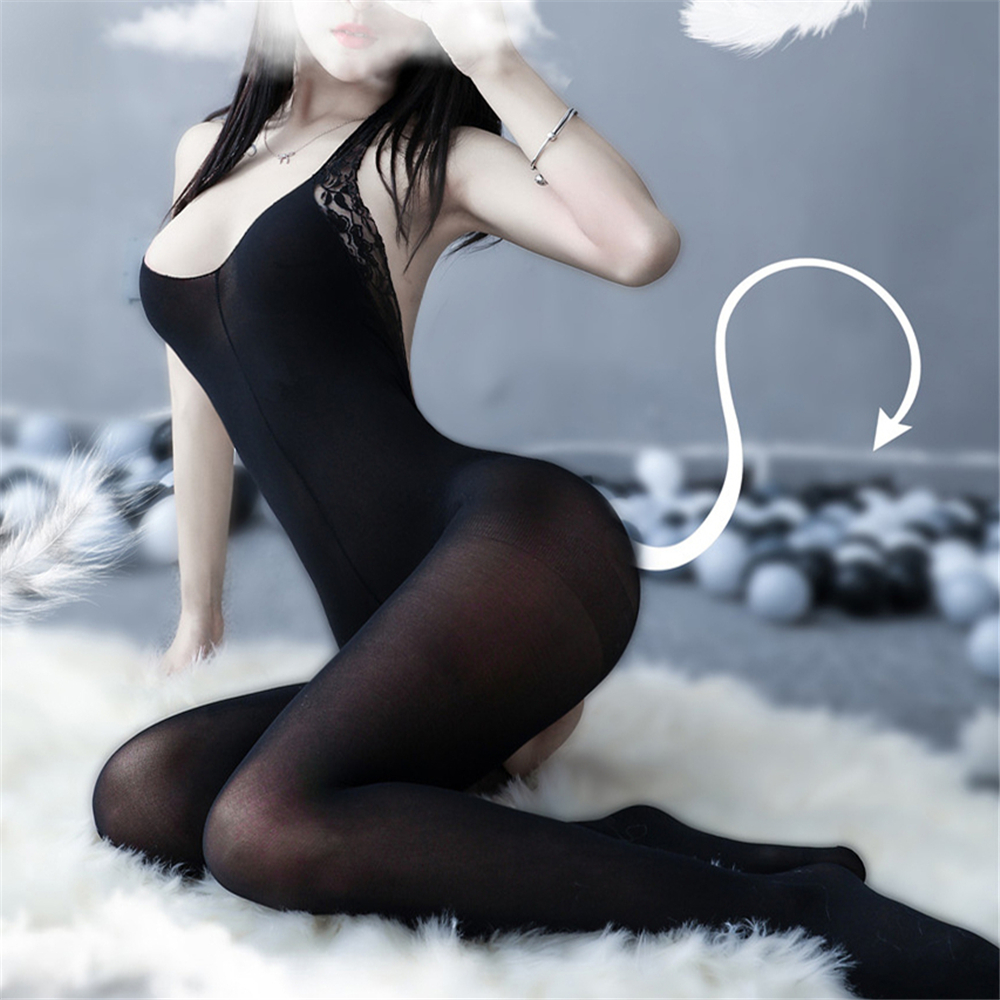 Sexy Lingerie Teddies Bodysuits Hot Erotic Lingerie Open Crotch Elasticity Mesh Bodystocking Women Porn Underwear Sex Costumes
