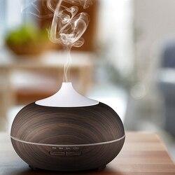 Inteligentne wifi bezprzewodowy 400Ml Aroma dyfuzor olejków eterycznych nawilżacz powietrza kompatybilny z Alexa i Google Home Amazon Voice Control w Nawilżacze powietrza od AGD na