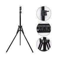Max Load 5kg 2M Heavy Duty Metal Stand Tripod Photo Studio Softbox Video Flash Light Stand Photography Reflector Lights Bracket