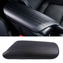 цена на Wood Decoration For Toyota C-HR CHR 2016 2017 2018 2019 Car Center Console Seat Armrest Box Cover Central Arm Rest Panel Trim