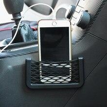 Almacenamiento decorativo de coche bolsa de red accesorios etiqueta para AUDI A1 A3 A4 A5 A6 A7 A8 TT 80 Q3 Q5 Q7 A4L A6L S línea B5 B6 B7 C5 C6 C7