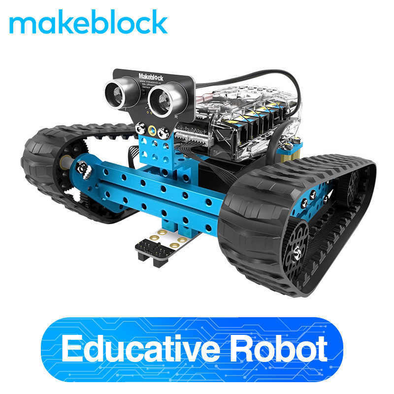 Makeblock Programmable Mbot Ranger Robot Kit Arduino, Stem Education, 3 In 1 Programmable Robot untuk Anak-anak, usia 12 Tahun