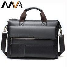 MVA teczka męska skórzana torba na laptopa skórzana torba męska torebki biurowe dla mężczyzn teczka na laptopa prawnik torby męskie 8615