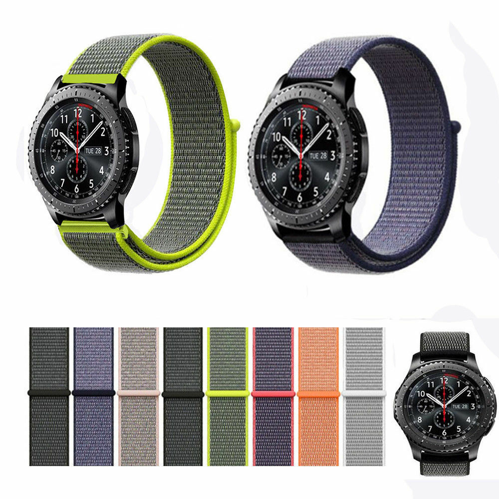 Sports Loop Band Nylon Replace Strap For LG G Watch W100 / R W110 / Urbane W150