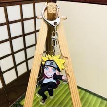 Naruto Anime Peripheral Acrylic Pendant Keychain Naruto Naruto Assist Key Chain Peripheral Keyring