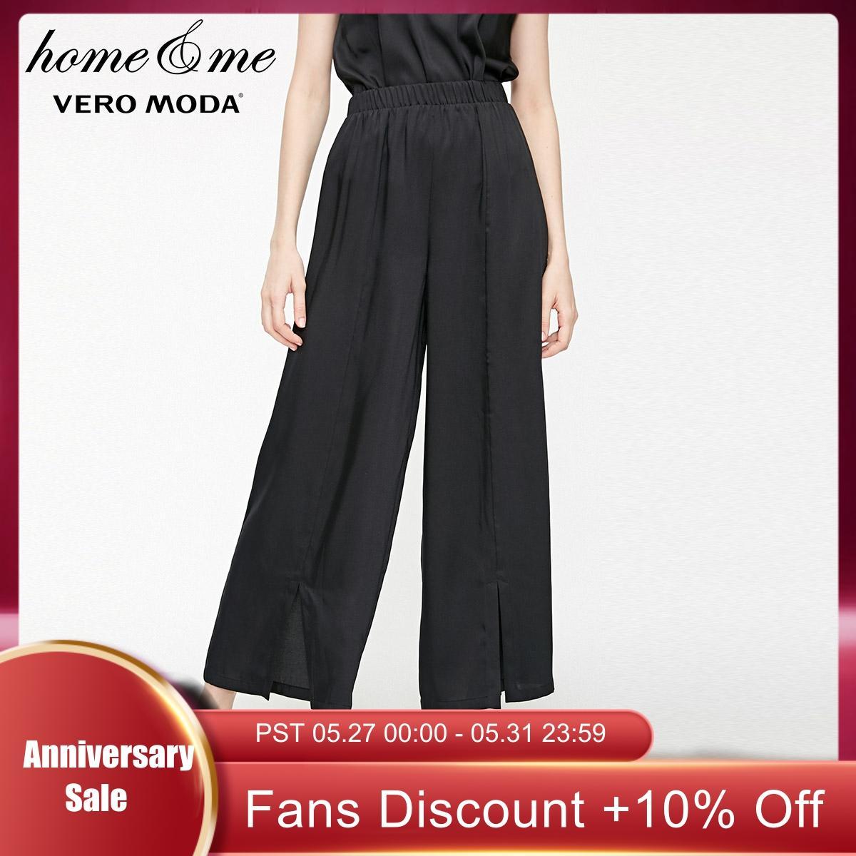 Vero Moda New Women's Split Cuffs Skin-friendly Pants | 3191P7508