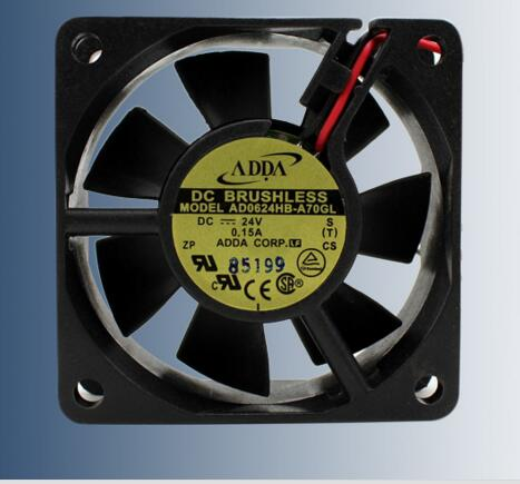New Original ADDA Taiwan AD0624HB-A70GL 6025 DC24V Mute Inverter Fan