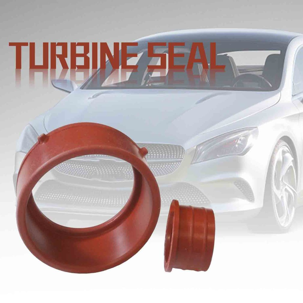 SI-AT28050 Genuine for Mercedes-Benz <font><b>OM642</b></font> Red Turbo & Breather Intake Seal Kit image