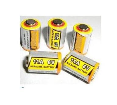 送料無料 5 ピース/ロット 11A 6V L1016 リモコン盗難防止警報システム電池アルカリ電池一次電池