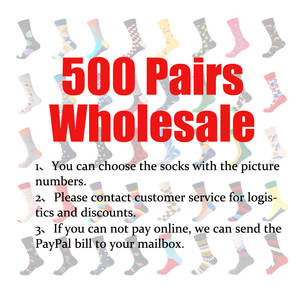 LIONZONE Men Socks Colors 500pairs Wholesale Cotton High-Quality Please Brand 650 Contact-Customer-Service
