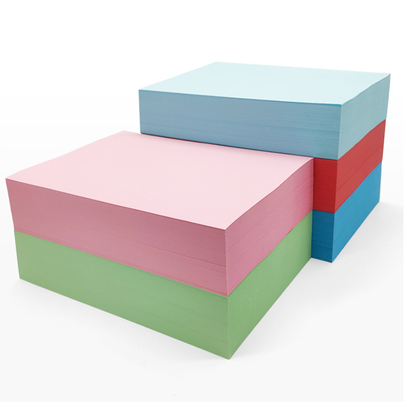 Color A5 Paper Printing Copy Paper 500 Sheets Children Handmade Paper 80 G Draft Paper