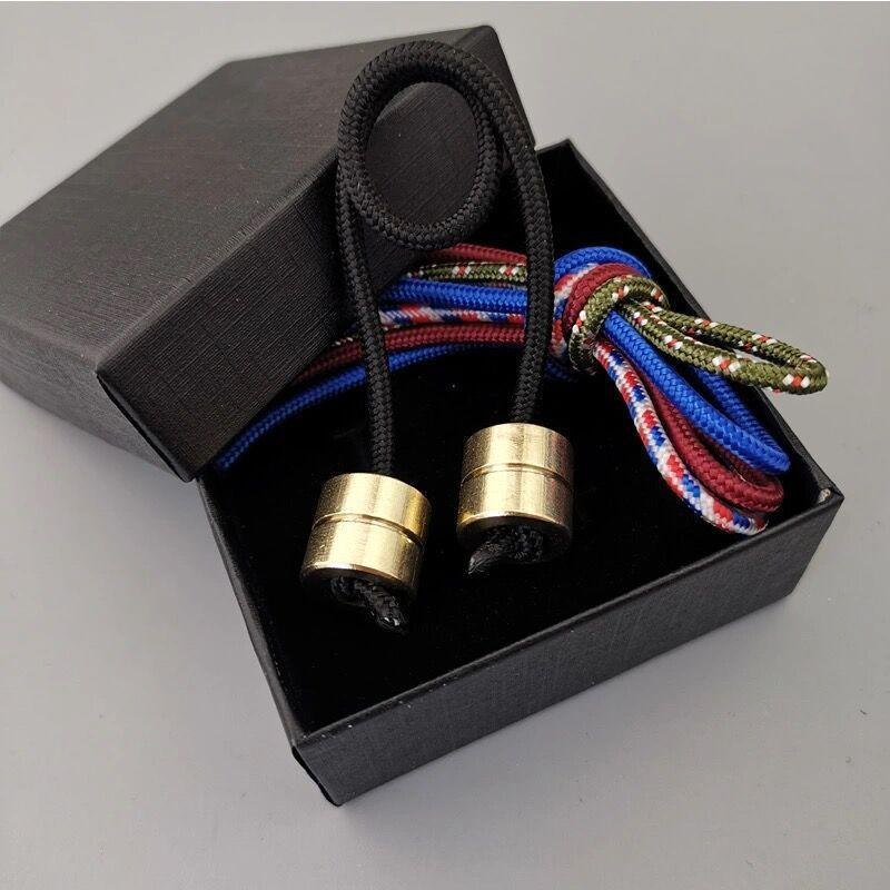 Toys Spinner Fidget-Toy Paracord Beads Finger-Skill Stress Begleri Aluminum-Alloy Worry img3