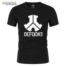 2019 brand clothing Defqon 1 Pure Cotton Designer T Shirt Men Tshirts Hip Hop Mens Short Sleeved T-shirts Fashion casual T-shirt